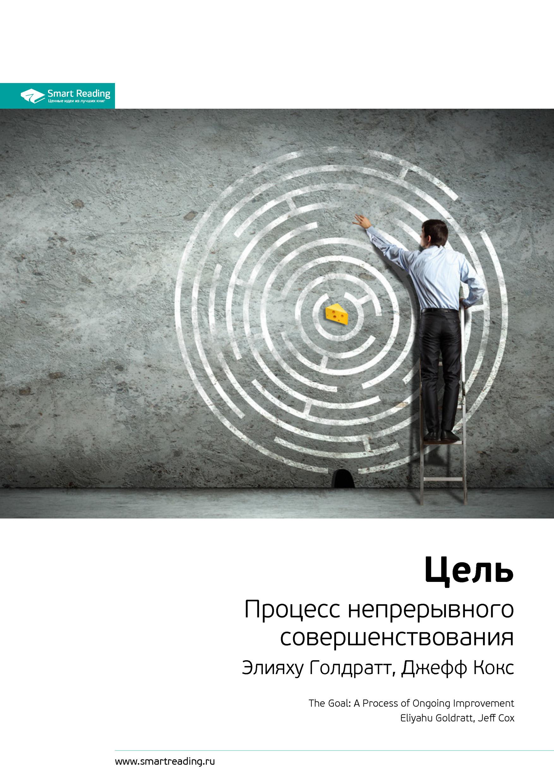 Ключевые идеи книги: Цель. Процесс непрерывного совершенствования. Элияху Голдратт, Джефф Кокс